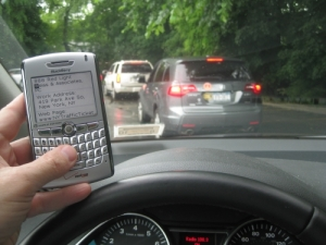 Texting And Driving Illegal Under VTL Section 1225-D