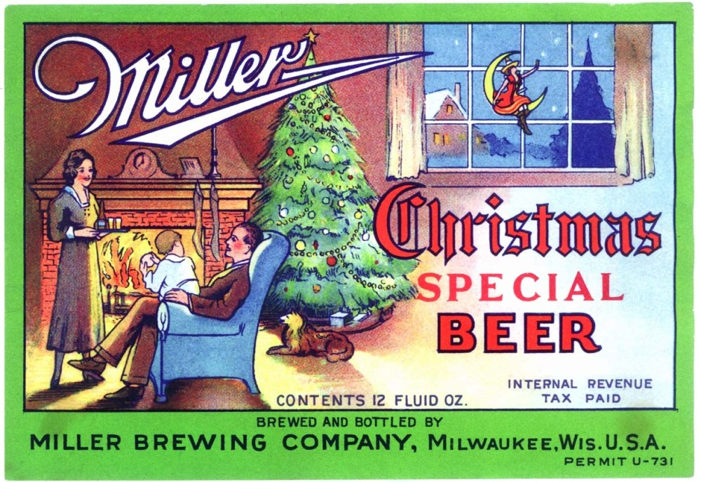 Happy Holidays -Retro Review Santa Beer Ads Dec. 20 2011 (6/6)