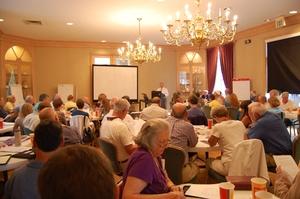 ADEM Director Lance LeFleur addresses symposium participants.