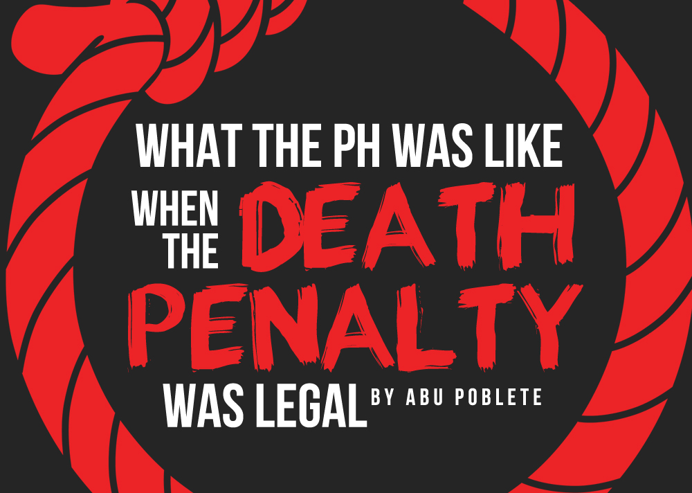 What do you think of the death penalty?