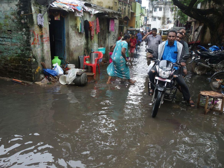 Überflutungen in Chennai im Jahr 2015, Foto: Ramakrishna Math, CC BY 2.0