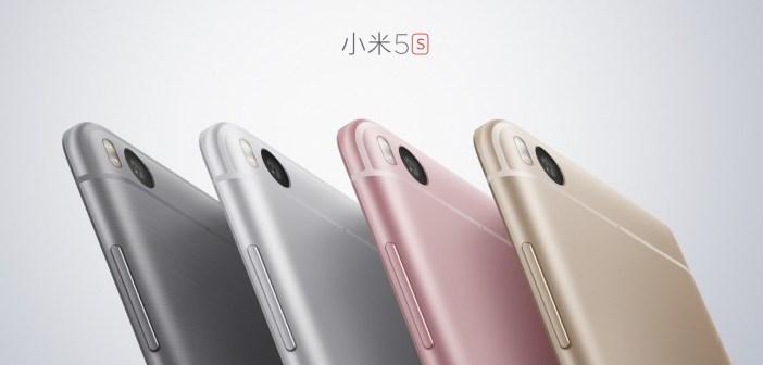 Xiaomi Mi 5s - mat. pras