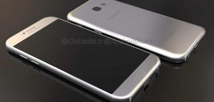 Czy tak będzie wyglądał Samsung Galaxy A5 2017?