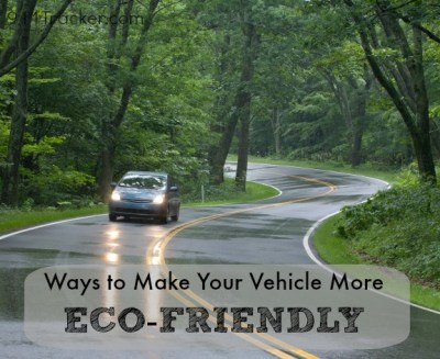 Ways to Make Your Car More Eco-Friendly