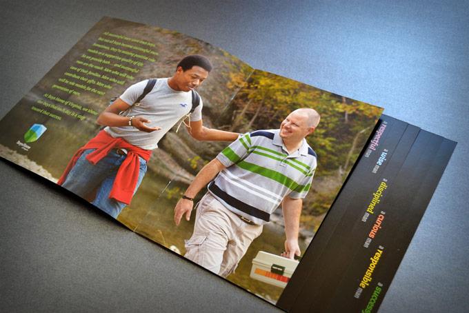 Boys Home Of Virginia Website Design.