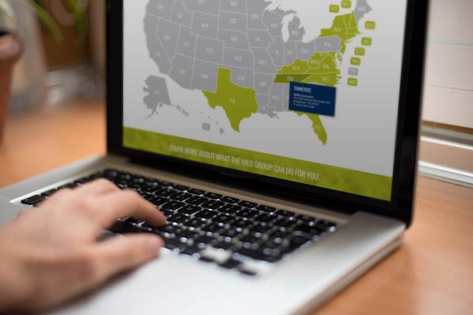 HilbGroup Branded Collateral, Digital, Website