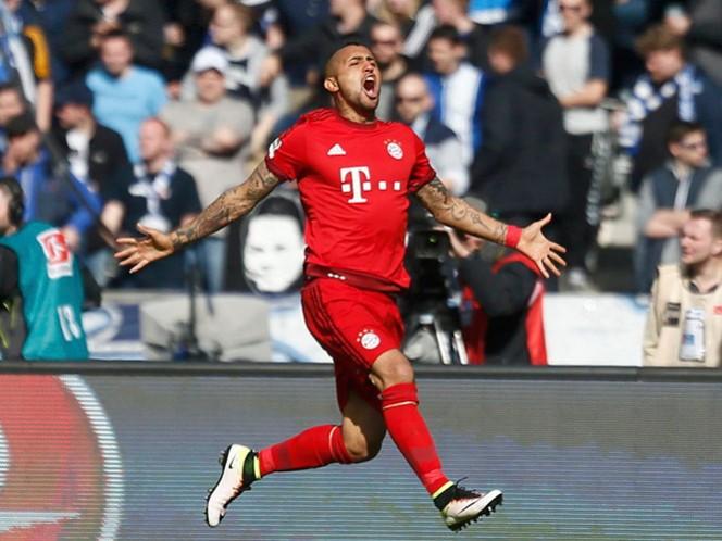 Arturo Vidal colabora con un gol en la victoria del Bayern Múnich de 2-0 sobre el Hertha Berlin (Fotos: AP y EFE)
