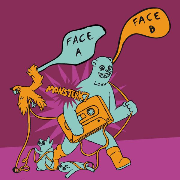 Monster K7 - Face A face B - 9th cloud