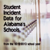 Student Incident Data for Alabama's Schools