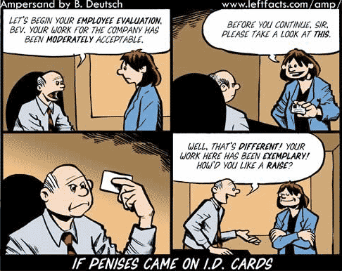 Cartoon: If Penises Came On I.D. Cards (original version)