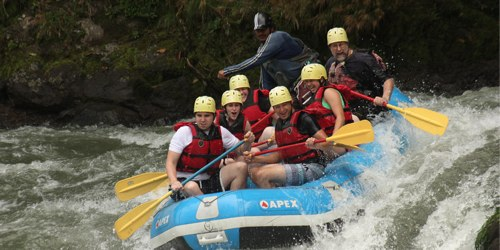 Rafting the Pacuare River, Costa Rica
