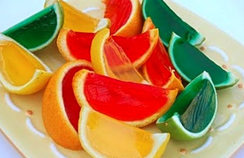Fruity Jello shots