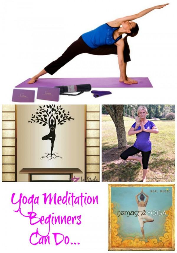 Yoga meditation beginners can do...