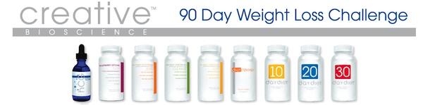 Creative Bioscience 90 Day Weight loss challenge
