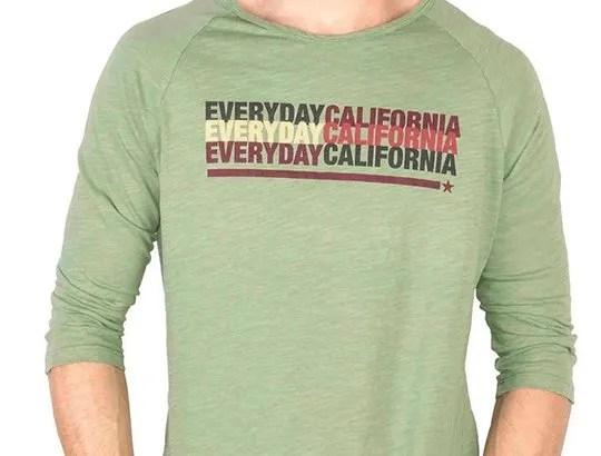 Everyday California: Hammond Baseball Shirt for Him