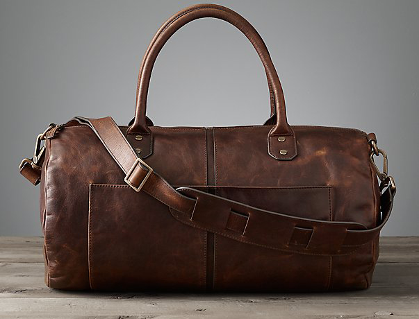 Italian Leather Bag from Restoration Hardware – Gift Guide