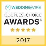 wedding wire couples' choice DJ award 2017