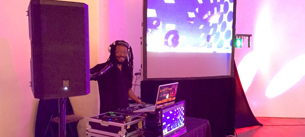 DJ One TyMe's video dj setup. Get a quote for this toledo wedding dj service