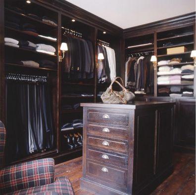 dark closet