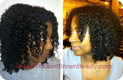 protein conditioned hair