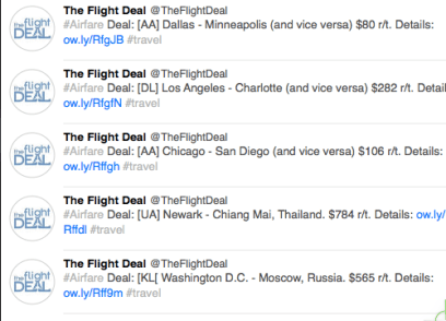 The Flight Deal is One Source for Bargain Fares