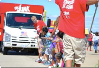 Kids' Truck Pull at IAD