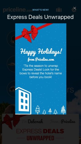 Priceline Express Deals Revealed with Mobile App