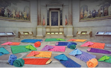Sleepover in the Rotunda The National Archives
