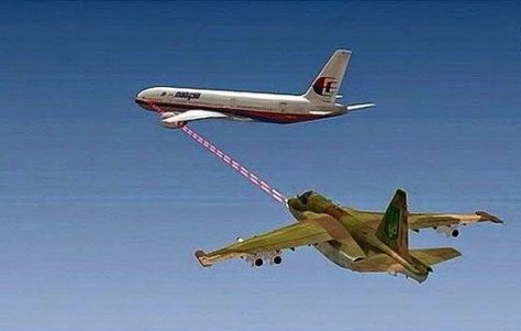MH-17 Angriff durch Su-25