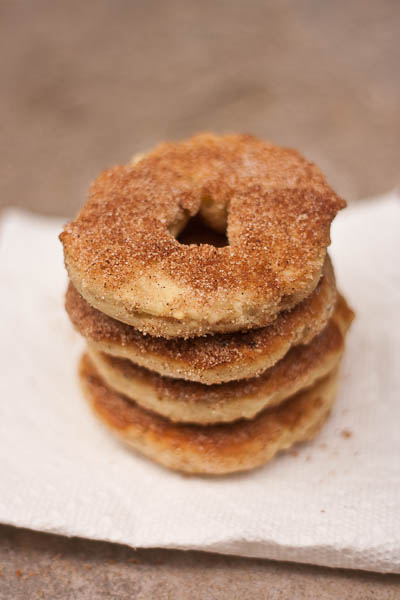 baked cider donuts