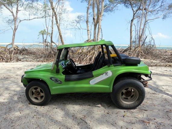 Dune buggy tour Jericoacoara Brazil