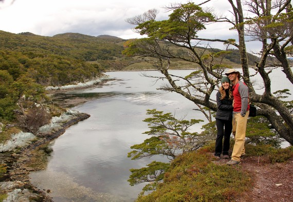 Glacier pond in Tierra del Fuego