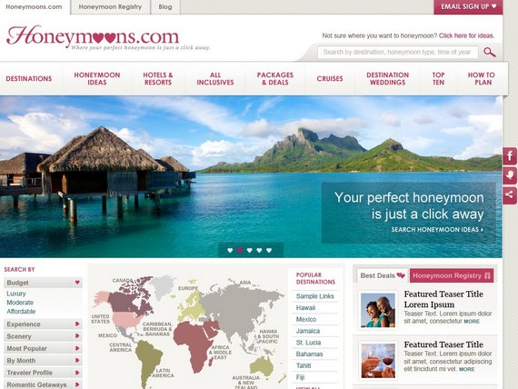 RTW honeymoon resource