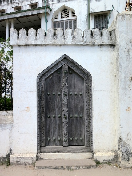 The wooden doors of zanzibar