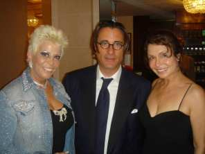 Irene with Lisa Voice & Andy Garcia