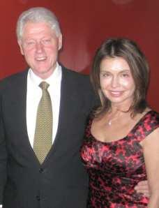 Irene & Bill Clinton
