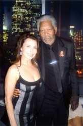 Irene & Morgan Freeman