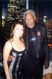 Irene & Morgan Freeman