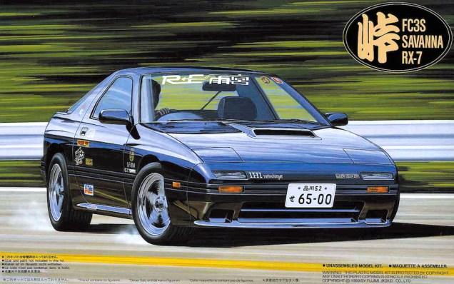 Fujimi Touge Mazda RX-7 FC3S