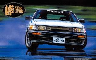 Fujimi Touge Toyota AE86 Corolla Levin