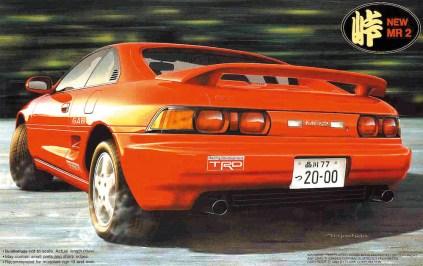 Fujimi Touge Toyota MR2 SW20