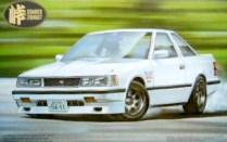 Fujimi Touge Toyota Soarer Z10