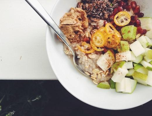 Chinese-Spiced Rice Pudding w/Vanilla + Lemon