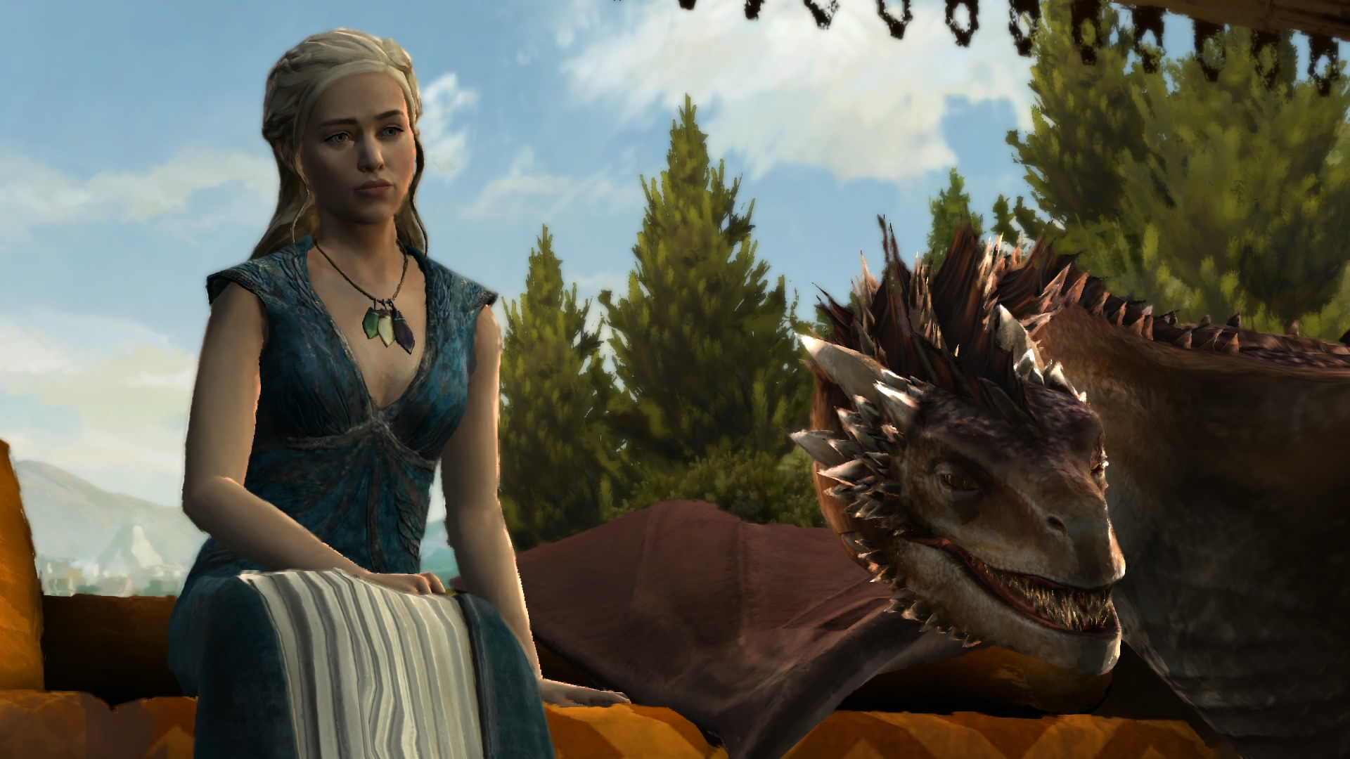 Dany and her dragon
