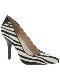 Calvin Klein Neila Zebra-Print Calf hair Pump: Retail ($44.97) Piperlime.com