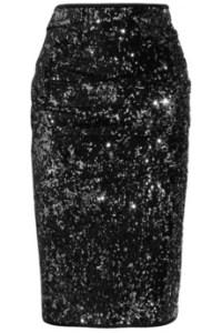 Donna Karan Sequined Pencil Skirt: Retail ($1295)