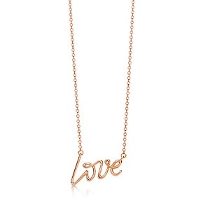 Tiffany Paloma Picasso® 18k Gold Love pendant: Retail ($650)