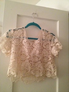 Summer 2012 Lace Top