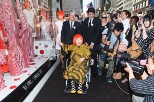 Louis Vuitton Unveils Yayoi Kusama