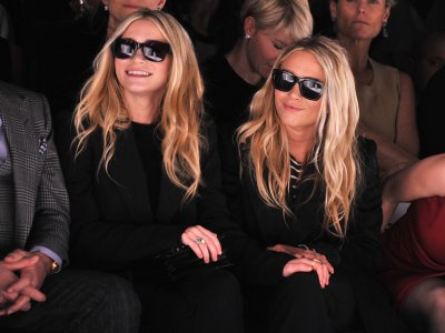 """Mary-Kate and Ashley Olsen"""